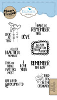 Elizabeth Craft Design Clear Stamp - Planner Remember CS121