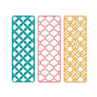 PRE-ORDER ONLY Sizzix Thinlits Die Set 3PK - Creative Backgrounds 663482