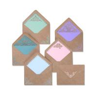 Sizzix Thinlits Die set 10PK - Envelope Liners  Intricate 663586
