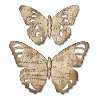 Sizzix Bigz Die - Tattered Butterfly by Tim Holtz 664166