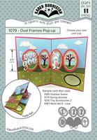 Karen Burniston - Oval Frames Pop-up 1079