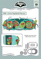 Karen Burniston - Circle Tag Book Pop-up 1081