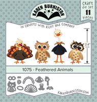 Karen Burniston - Feathered Friends 1075