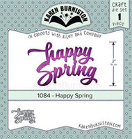 Karen Burniston - Happy Spring 1084