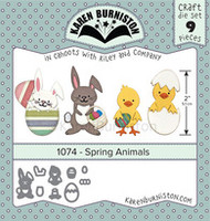 Karen Burniston - Spring Animals 1074