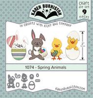Karen Burniston - Spring Animals 1074