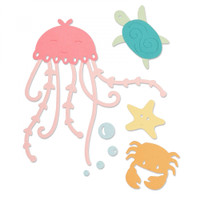 Sizzix Thinlits Die Set 5PK - Under the Sea 663363