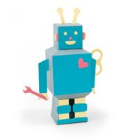 Sizzix Thinlits Die Set 8PK - 3-D Robot 663375