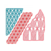 Sizzix Thinlits Die Set 3PK - Macramé Masks 663589