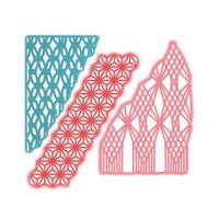 Sizzix Thinlits Die Set 3PK - Macramé Masks 663589