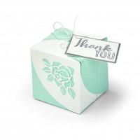 Sizzix Thinlits Die Set 8PK - Wrap Favor Box