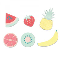 Sizzix Thinlits Die Set 16PK - Summer Fruit 663597