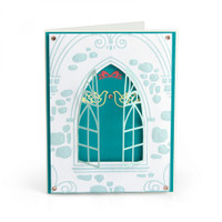 Sizzix Impresslits Embossing Folder - Wedding Window 663600