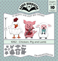 Karen Burniston - Chicken Pig Lamb 1092