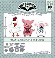 Karen Burniston - Chicken Pig Lamb 1092