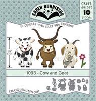 Karen Burniston - Cow & Goat 1093