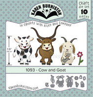 Karen Burniston - Cow & Goat 1093