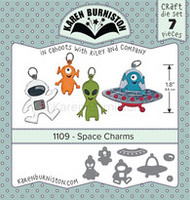 Karen Burniston - Space Charms 1109