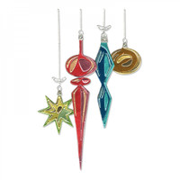 Sizzix Thinlits Die Set 17PK Holtz - Hanging Ornaments Colorize 664197