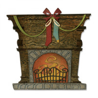 Sizzix Thinlits Die Set 10PK - Fireside 664193