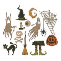 Sizzix Thinlits Die Set 17PK - Frightful Things 664209