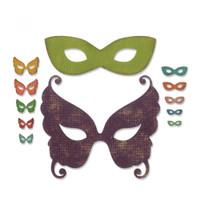 Sizzix Thinlits Die Set 12PK - Masquerade 664195
