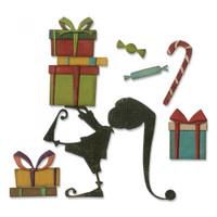 Sizzix Thinlits Die Set 11PK - Santa's Helper 664192