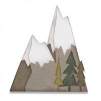 Sizzix Thinlits Die Set 7PK - Alpine 664225