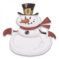 Sizzix Thinlits Die Set 11PK - Mr. Snowman, Colorize 664230