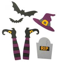 Sizzix Thinlits Die Set 9PK - Spooky Witch 663461