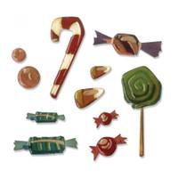 Sizzix Thinlits Die Set 11PK - Sweet Treats 664204