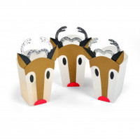 Sizzix Thinlits Die Set 6PK - Reindeer Bag 663609