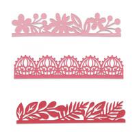 Sizzix Thinlits Die Set 3PK - Decorative Edges 663618