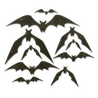 Sizzix Thinlits Die Set 10PK - Bat Crazy 664203
