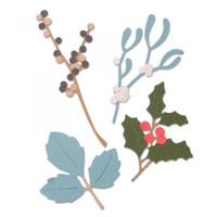 Sizzix Thinlits Die Set 5PK - Winter Leaves 663425