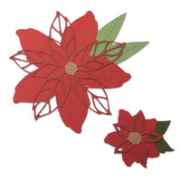Save Sizzix Thinlits Die Set 8PK - Poinsettia 663464