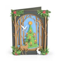 Sizzix Thinlits Die Set 20PK - Christmas Shadow Box 663611