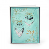 Sizzix Impresslits Embossing Folder - Season of Joy 663211