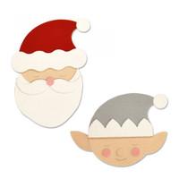 Sizzix Bigz Die - Santa & Elf 663378