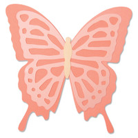 New! Sizzix Bigz Die - Layered Butterfly 664387
