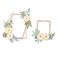 New! Save Sizzix Thinlits Die Set 12PK - Geo Floral Frame 664377
