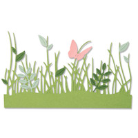 Sizzix Thinlits Die Set 4PK - Springtime Borders 664382