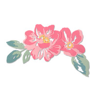 New! Sizzix Thinlits Die Set 10PK - Floral Layers 664359