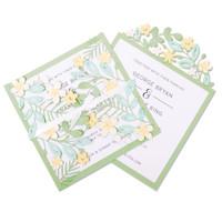 New! Sizzix Thinlits Die Set 9PK - Floral Edges #2 664395