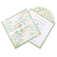 Sizzix Thinlits Die Set 9PK - Floral Edges #2 664395