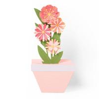 Sizzix Thinlits Die Set 9PK – Pop-Up Plant Pot 664360