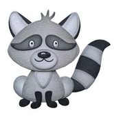 Elizabeth Craft Design Die - Raccoon EC1683