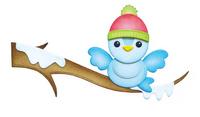Elizabeth Craft Design Die - Winter Bird EC1685