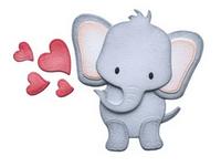 Elizabeth Craft Design Die - Elephant EC1663
