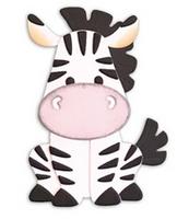 Elizabeth Craft Design Die - Zebra EC1616